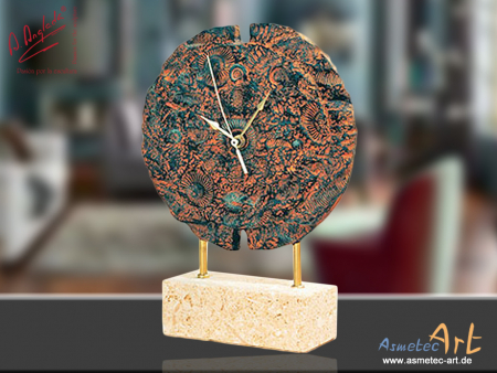 Angeles Anglada TG31 - Clock - Fossil Round